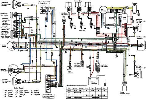 2001 kawasaki zx9r wiring diagram wiring diagram