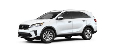 Kia Sorento 2019 White by 2019 Kia Sorento Color Options