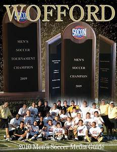 2010 Wofford Men's Soccer Media Guide by Wofford Athletics ...