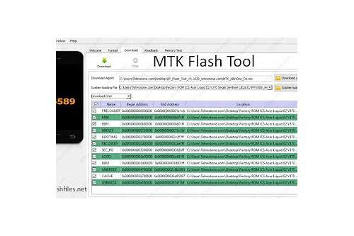 baixar tutorial flash tool mtk