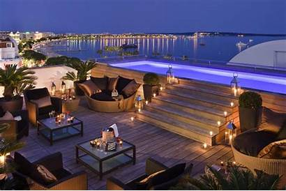 France Cannes Beach Cafe Wallpapers Majestic