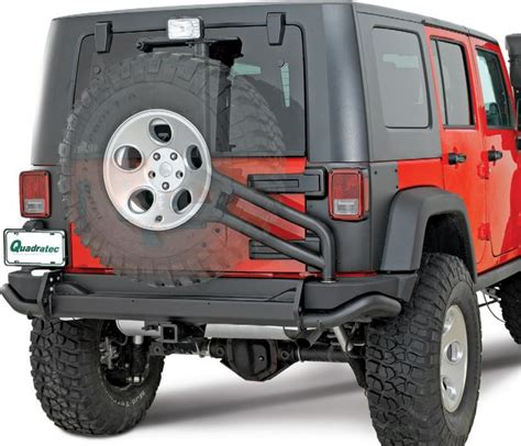 aev jeep rear bumper aev rear bumper tire carrier for 07 16 jeep wrangler
