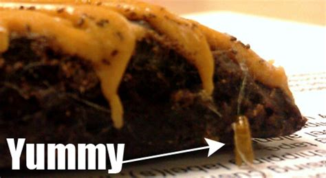 man finds meal worms in reese s brownie after taking big