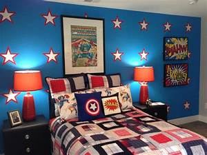 Inspirational Superhero Bedroom Ideas Picture