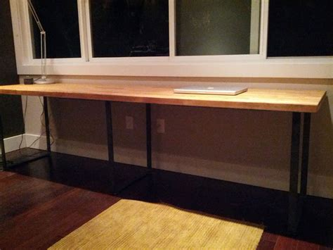 how to make your own desk make your own desk using modern table legs