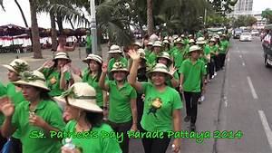 2014.03 St. Patrick's Day Parade Pattaya 2014 - YouTube