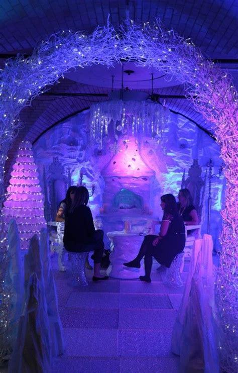 dance floor ice effect      prom ideas