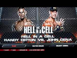 The gallery for --> John Cena Vs Randy Orton Hell In A ...