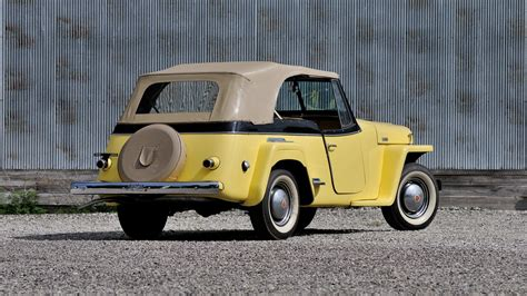 1948 willys jeepster 1948 willys jeepster convertible f114 chicago 2013