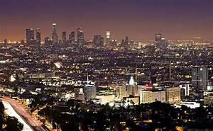 Photo Los Angeles : nuit los angeles fonds d 39 cran villes pour la tablette los angeles tats unis californie ~ Medecine-chirurgie-esthetiques.com Avis de Voitures