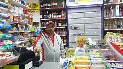 Shopkeeper Keeper Robbery Terrifying Threatened Moment During