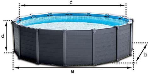 piscine intex graphite solde piscine tubulaire ronde intex graphite 4 78 x h1 24m