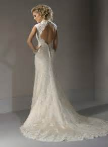 lace dresses for wedding lace wedding dress with open back sang maestro