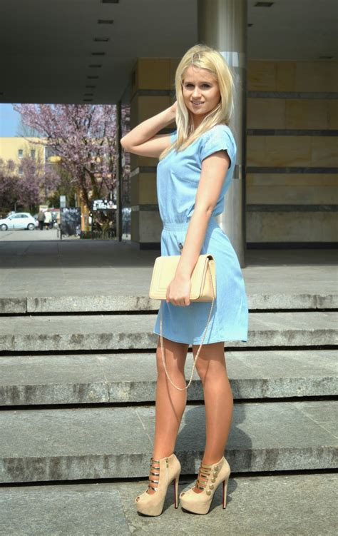olaholly blue dress