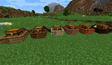 Boat Mod Minecraft 1 11 2 by Storage Boats Mod Para Minecraft 1 11 2 Minecrafteo