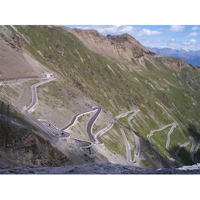 The Stelvio Pass Italy