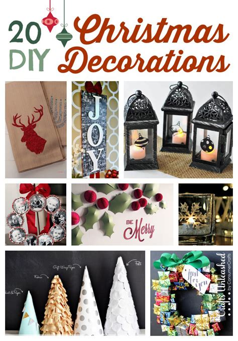 diy christmas decorations roundup crafts unleashed
