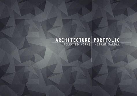12772 architecture cover page design architecture design portfolio by hesham balbaa issuu