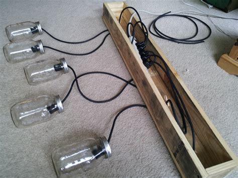 multi outlet extension cord for lights twenty8divine jar rustic pallet light fixture diy
