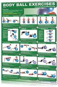 Printable Exercise Ball Exercises