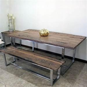 Banquette Salle A Manger : la table avec banquette parfaite pour la salle manger ~ Premium-room.com Idées de Décoration
