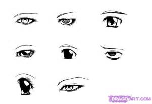 How to Draw Anime Eyes Drawing