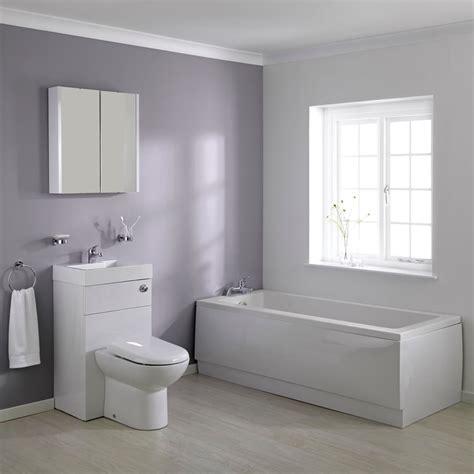 bathroom suites ideas 1700mm combination wc unit bathroom suite