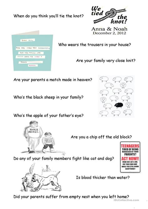 worksheets family roles worksheet cheatslist free