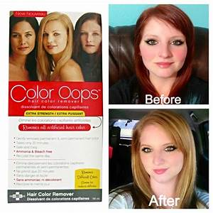 Oops Color Remover Of Hair Color Remover Cvs