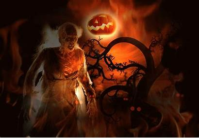 Halloween Animated Desktop Spooky Gifs Scary Backgrounds