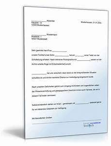 Einverständniserklärung Nachbarn Muster Textvorlage : einspruch schulische disziplinarma nahme muster zum download ~ Themetempest.com Abrechnung