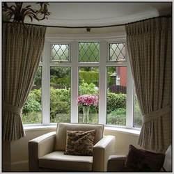 Garden Closet by Curtain Rails For Bay Windows Curtains Home Design