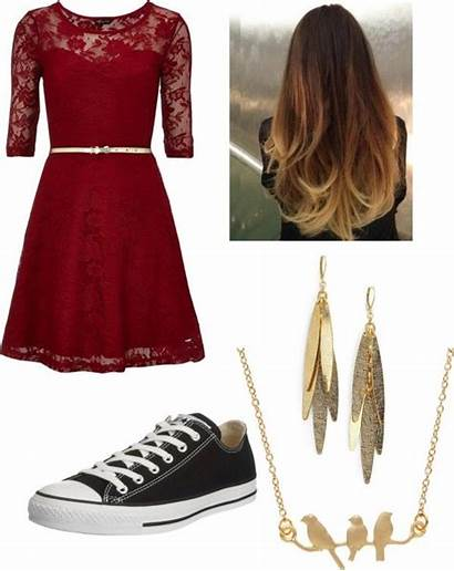 Outfits Converse Dresses Polyvore Formal Prom Classic