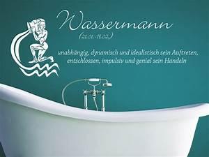 Wassermann Sternzeichen Eigenschaften : wandtattoo sternzeichen wassermann bei ~ Orissabook.com Haus und Dekorationen