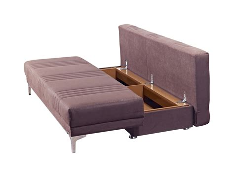 europa vintage chocolate queen size sofa bed  mobista