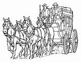 Clipart Stagecoach Stage Coach Clip Pioneer Coloring Jenny Sketch Models Clipground Pages Cliparts Bookstore Lds Smiths Template Library sketch template