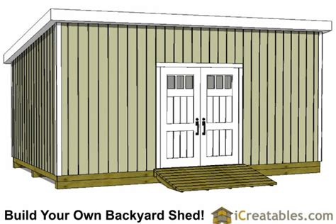 12x20 Storage Shed Plans by 12x20 Lean To Shed Plans Build A Large Lean To Shed