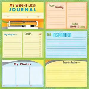 8 best weight loss journal template printable printablee