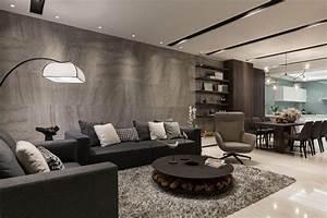 Photo Deco Salon : salon contemporain d co par les maisons d architecte du monde entier ~ Melissatoandfro.com Idées de Décoration