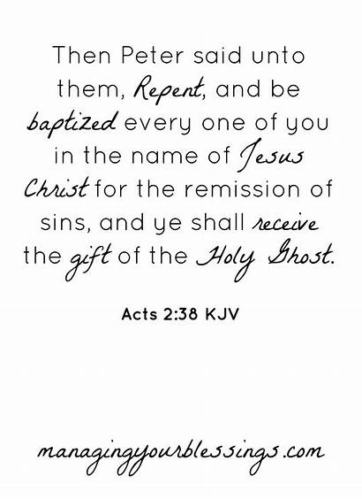 Acts Bible Scripture 38 Quotes Verse Printable
