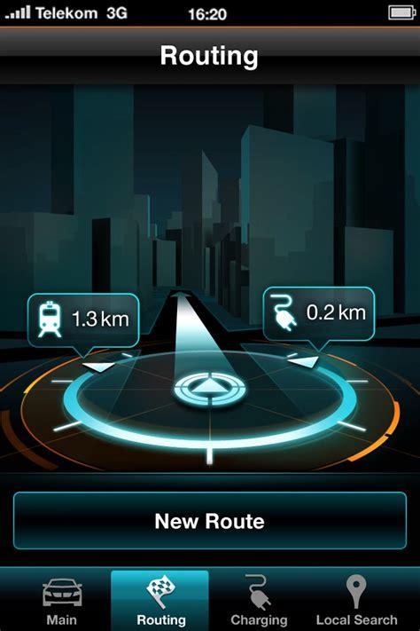 bmw  electric car iphone app screenshots teased