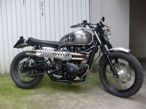 2009 Triumph Scrambler Modified