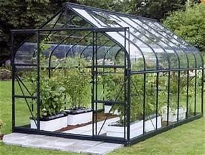 Serre Acier Verre : serre infos et prix des serres de jardin en acier ~ Premium-room.com Idées de Décoration