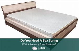 do you need a box spring with a memory foam mattress With do mattresses come with box springs