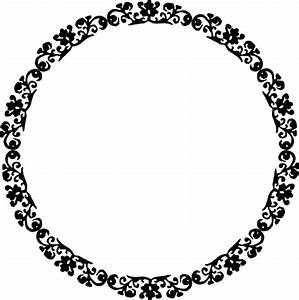 Circle Border Clip Art - Cliparts.co