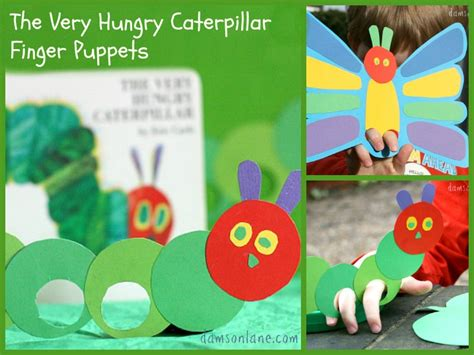 hungry caterpillar finger puppets