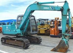 Kobelco Sk60 Crawler Excavator Service Repair Workshop