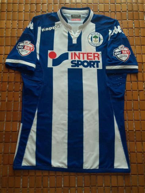 Wigan Athletic Home football shirt 2015 - 2016. Sponsored ...
