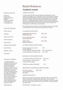 academic cv template curriculum vitae academic cvs With resume samples for faculty positions
