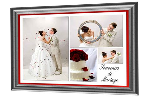 scrapbooking cadre photo pele mele photos de mariage presse du cdip